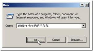 Mengembalikan File Folder Yang Hilang Karena Virus